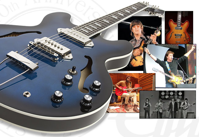 Gibson ES-330 first cousin the Epiphone Casino