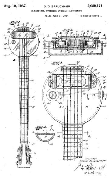 1958 rickenbacker 325 wiring diagram wiring diagram Rickenbacker Guitar Schematics