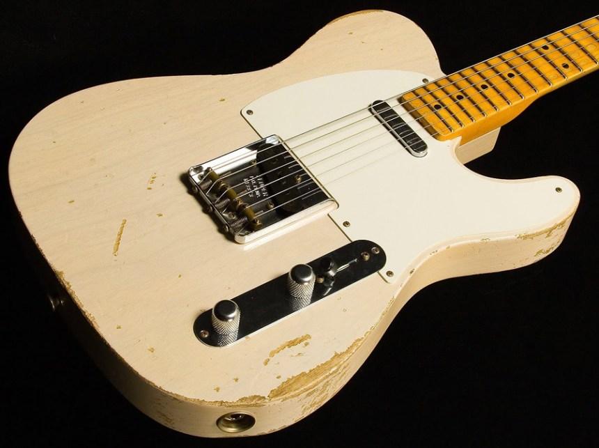 1955 Fender Telecaster - Whiteguard