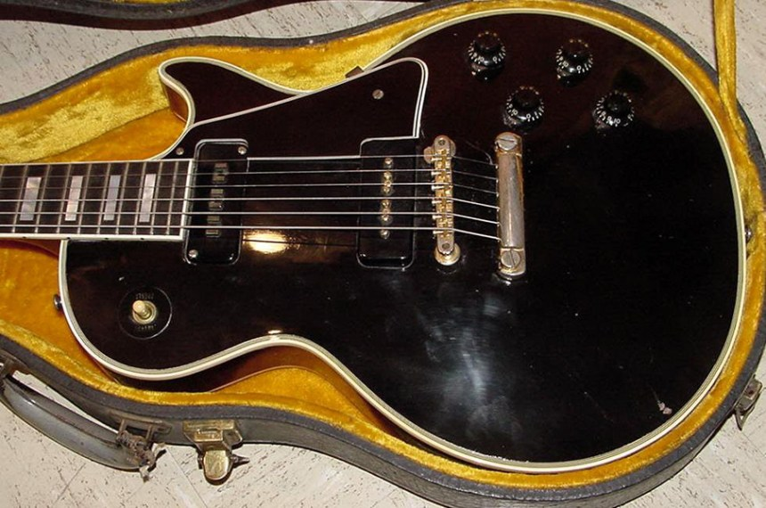 "1956 Gibson Les Paul Custom ""Black Beauty"""