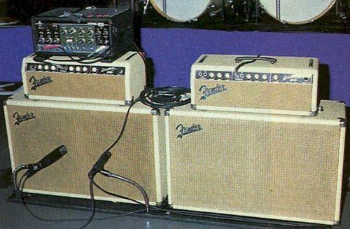 Brian Setzer's 1963 6G6-B Fender Bassman Amps