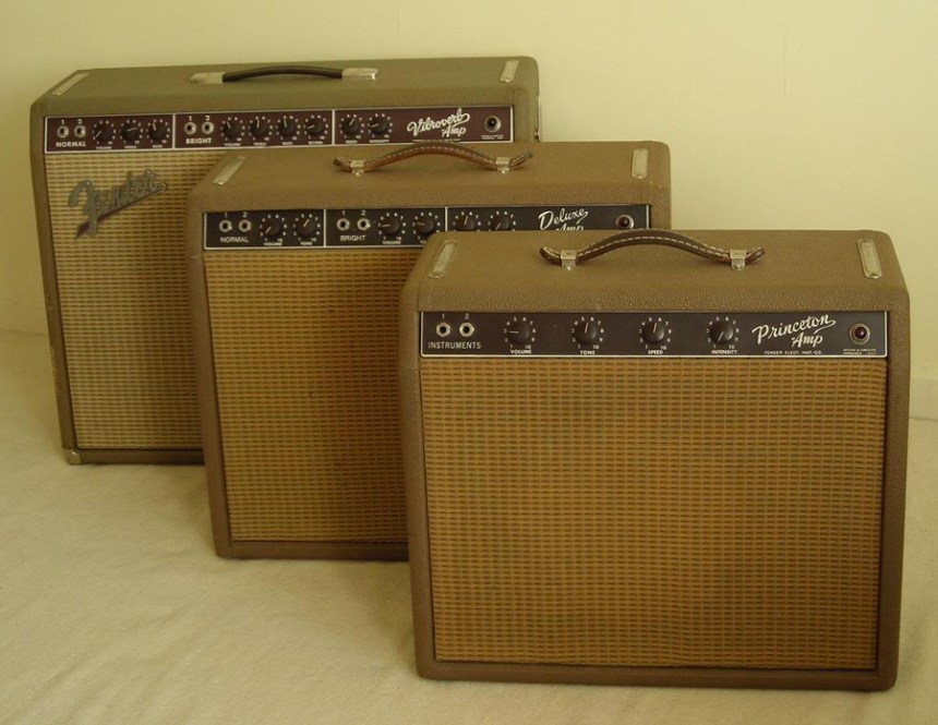 Fender vintage Brownface amps