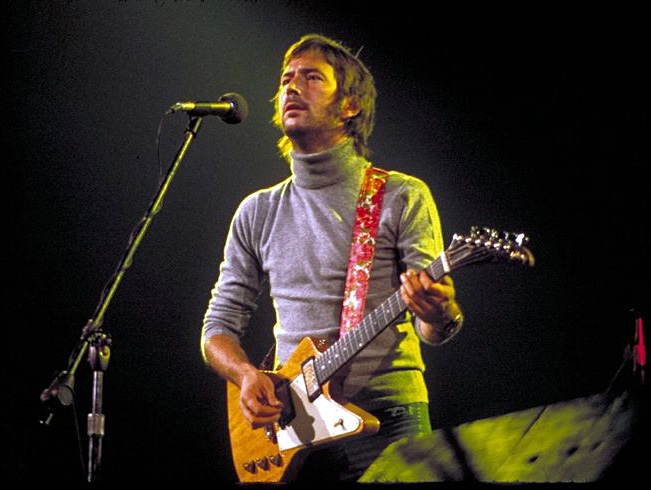 Eric Clapton playing Gibson Explorer