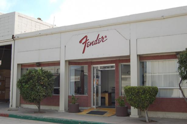 Fender Factory Entrance