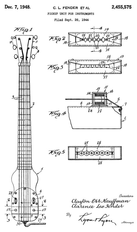 Fender/Kauffman Patent Diagram