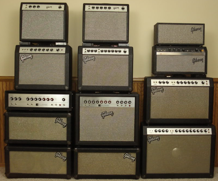 1960s Gibson amps