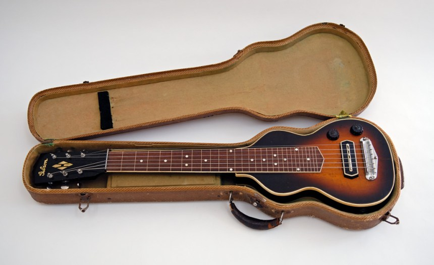 Gibson EH-150 had same pickup as the later ES-150