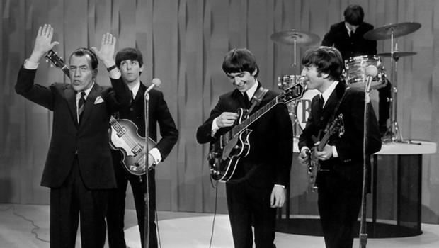 Beatles on Ed Sullivan 1964