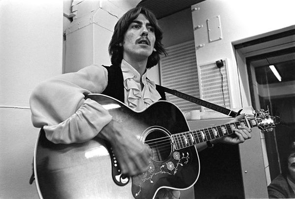 George Harrison's Gibson SJ-200  Super Jumbo Acoustic Guitar