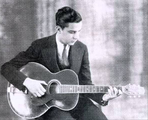 Eddie Lang with Gibson L-4