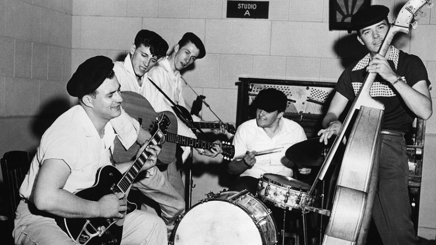 Gene Vincent and the Blue Caps with Cliff Gallup