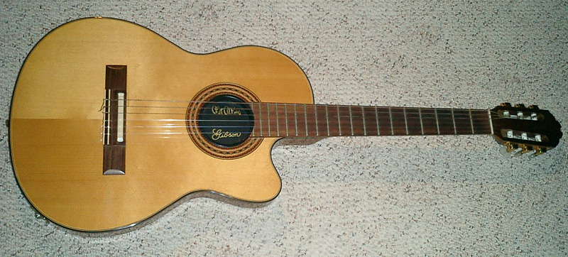 Gibson Chet Atkins Nylon String Solid Body Guitar