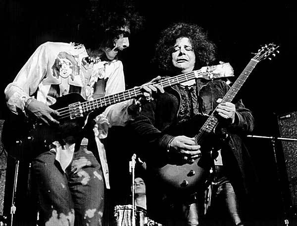 Leslie West with Les Paul Junior