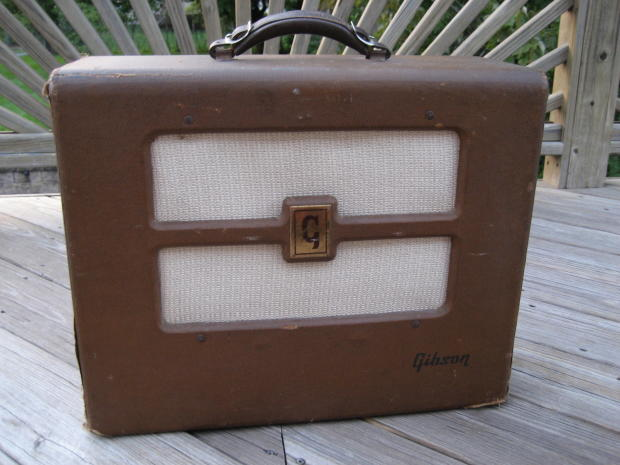 1952 Gibson BR-6 amp
