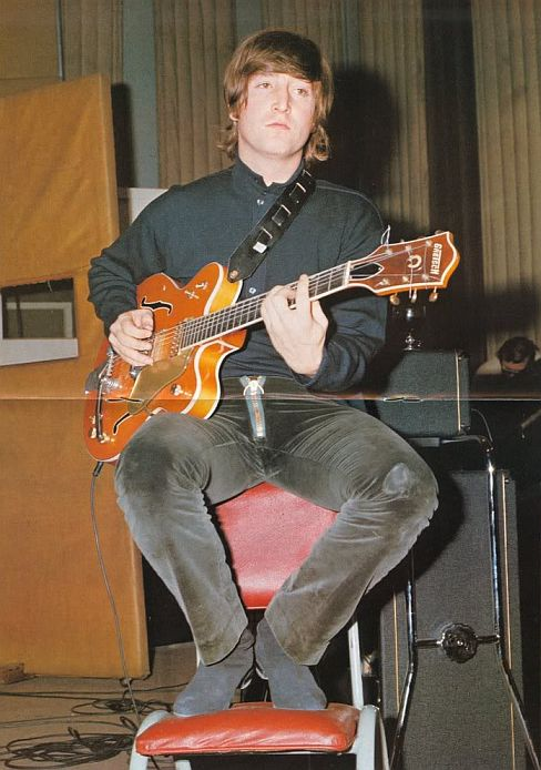 John Lennon also owned a Gretsch