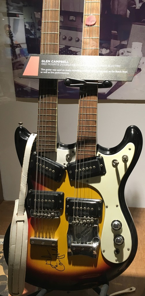 Glen Campbells Double neck Mosrite