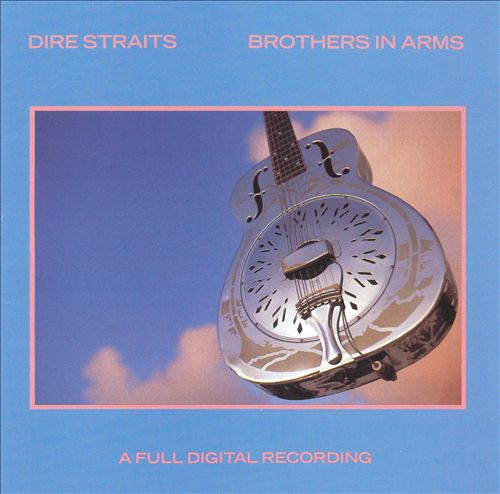 "1937 National Style ""O"" guitar on Dire Straits Brother In Arms album"