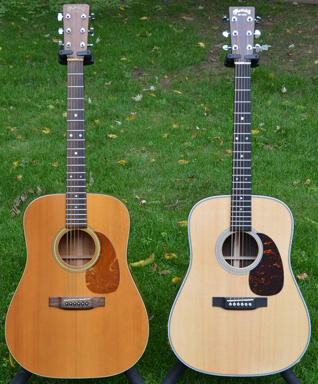 1980 Martin D25K (Koa) and 2016 Martin HD-28