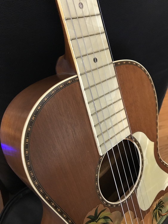 Stromberg Voisinet Parlor Guitar Chasingguitars