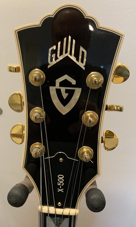 Guild X-500T | ChasingGuitars