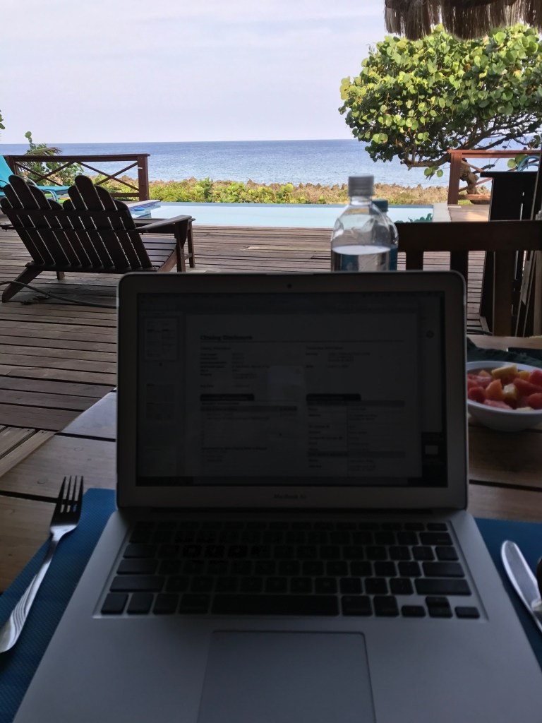 Working Breakfast in Roatan