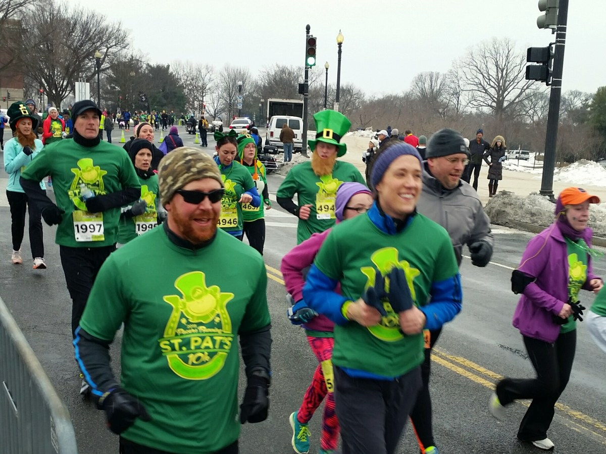 St. Patrick Day 5k Run Report