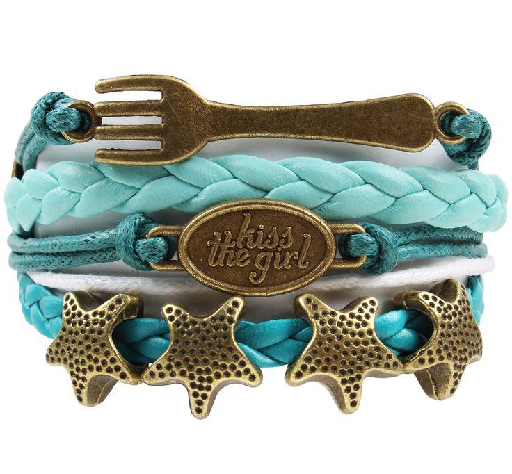 Ashley Bridget Kiss the Girl Bracelet
