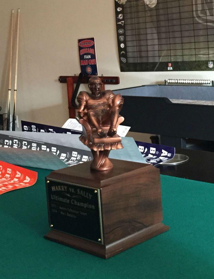 Fantasy Football Draft Trophy