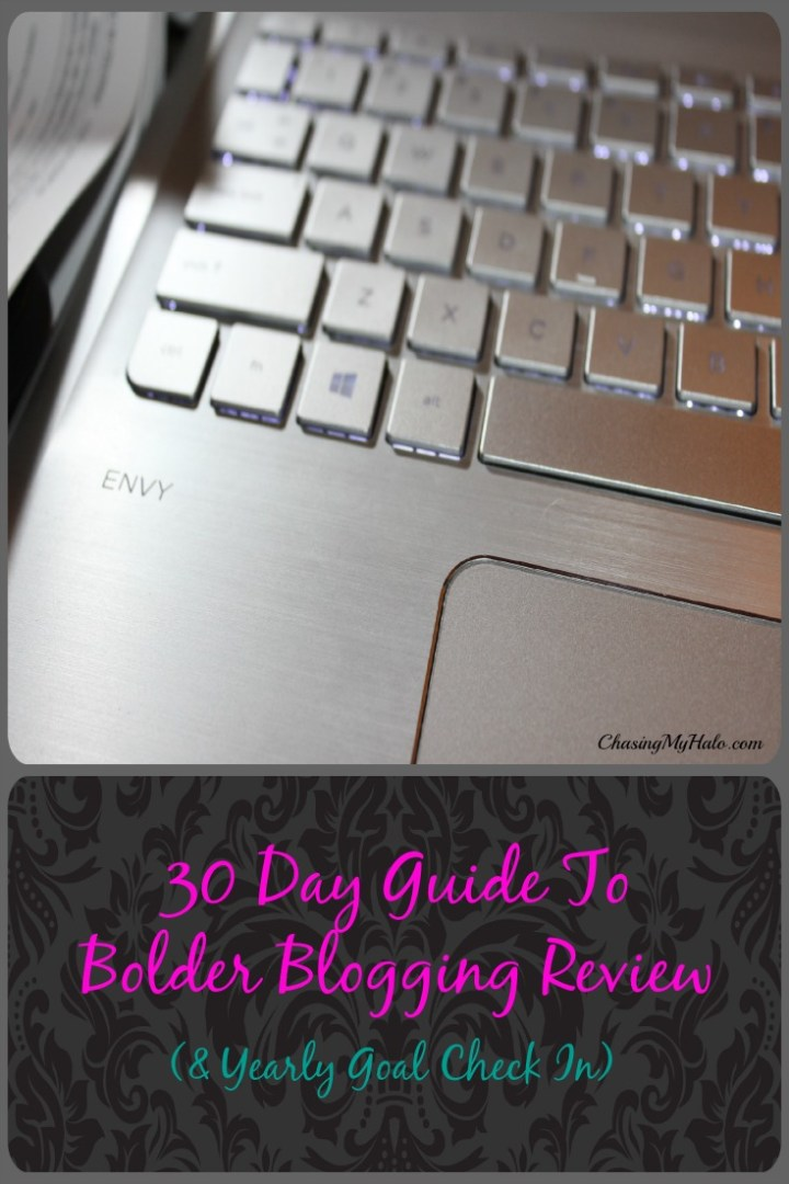 30 Day Guide To Bolder Blogging Review and Giveaway