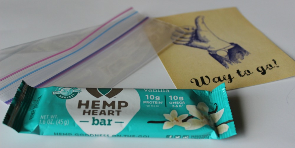 Vanilla Hemp Heart Bar