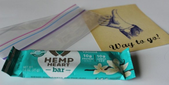 Vanilla Hemp Heart Bar