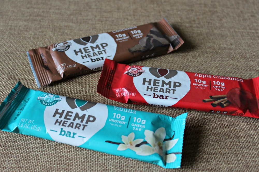 Encouragement Packs with Manitoba Harvest Hemp Heart Bars
