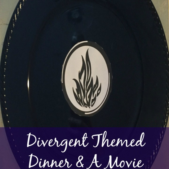 Divergent Themed Dinner and a Movie Date Night