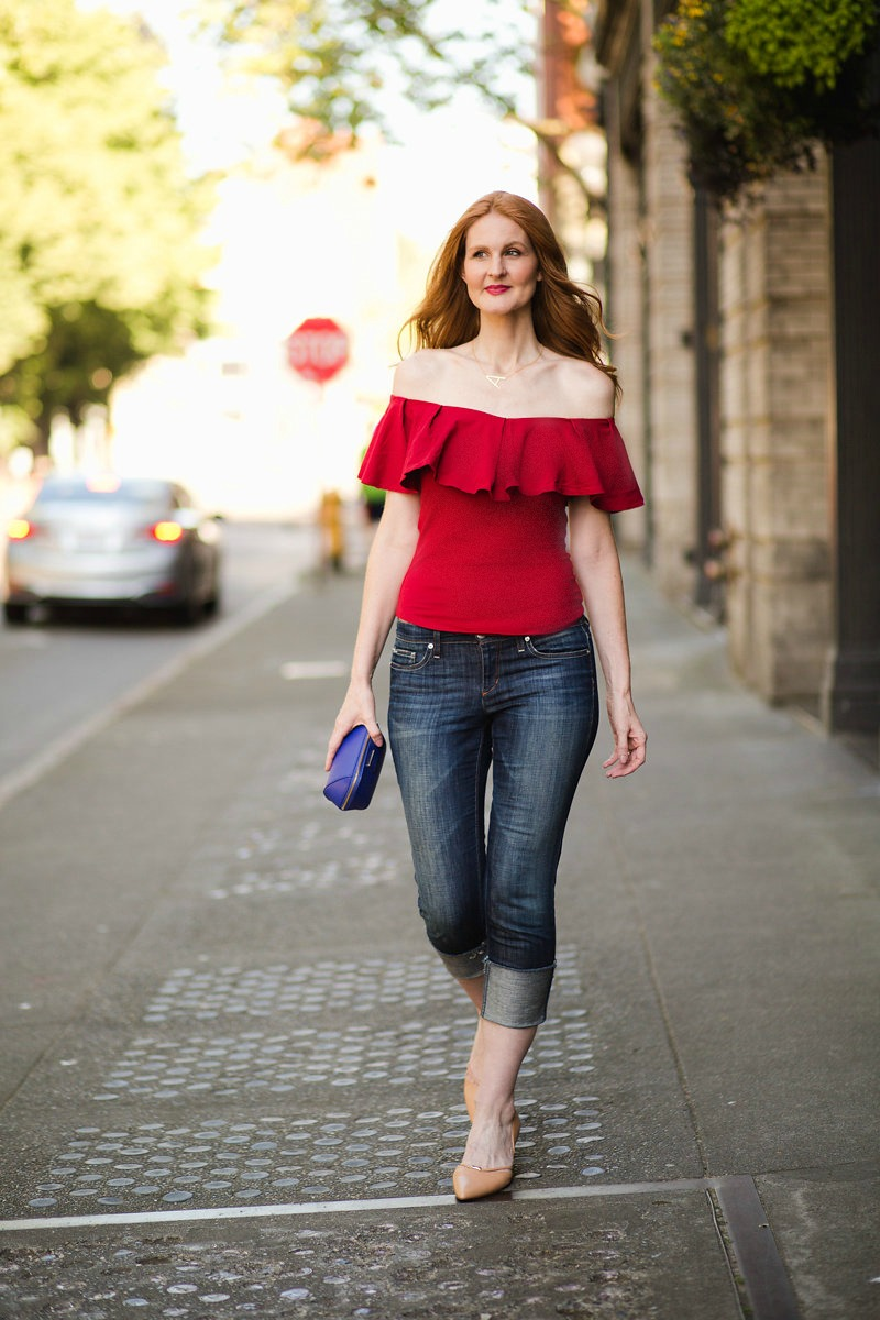 A Splash of Red (& How Anyone Can Wear It)