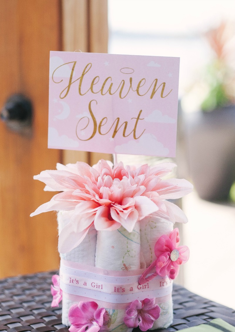 A Heaven Sent Baby Shower