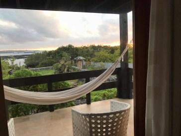 That hammock life at Finch Bay Eco Hotel