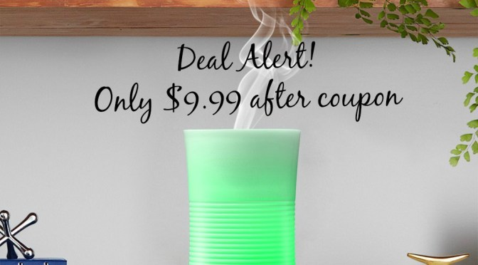 Deal Alert: Essential Oil Diffuser only $9.99