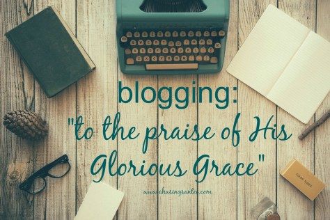 praise of his glorious grace