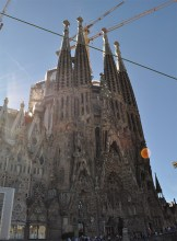 Outside Sagrada Familia - Chasing Starry Skies