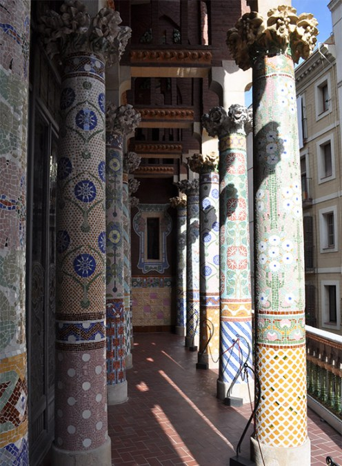Mosaic columns - Chasing Starry Skies