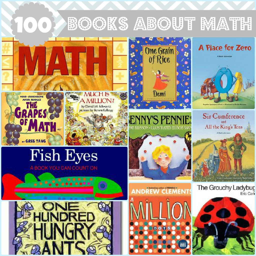 100 Books About Math For Kids