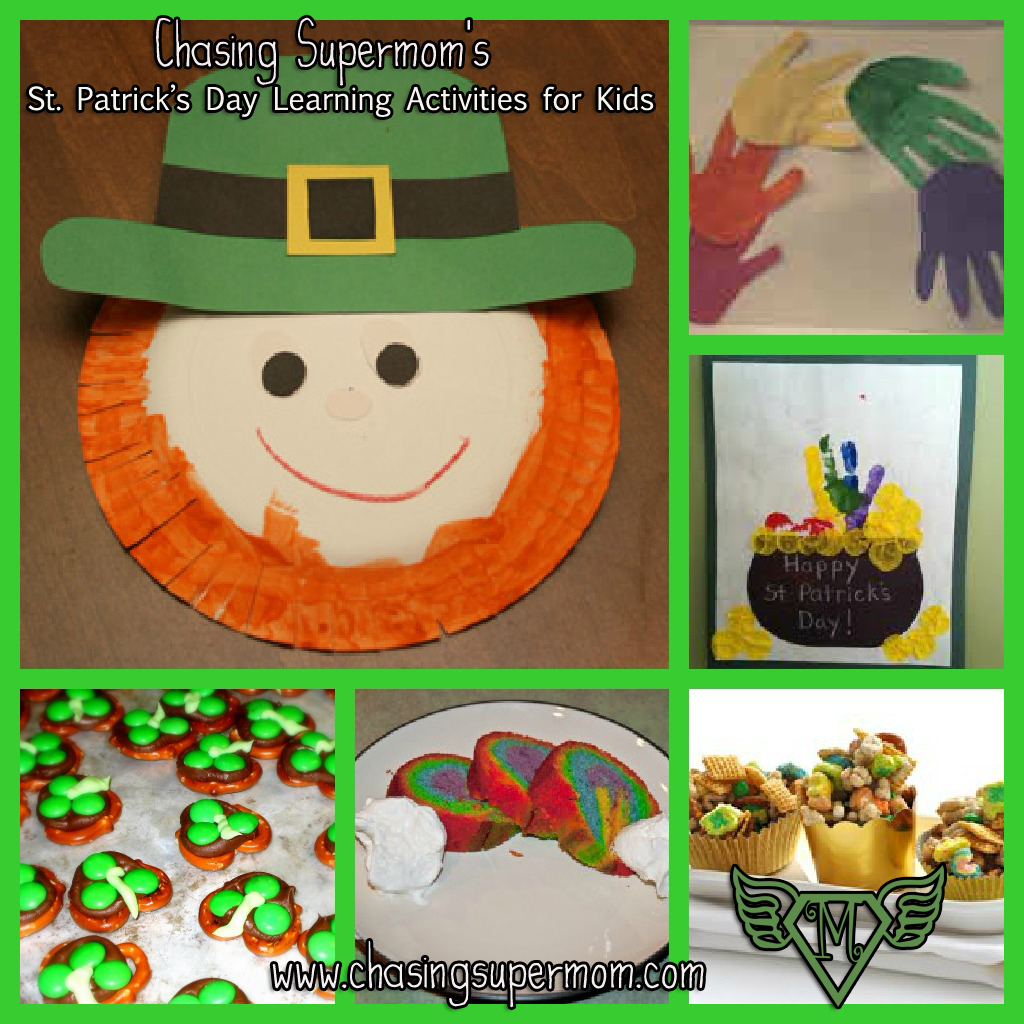St Patrick S Day Learning Activities