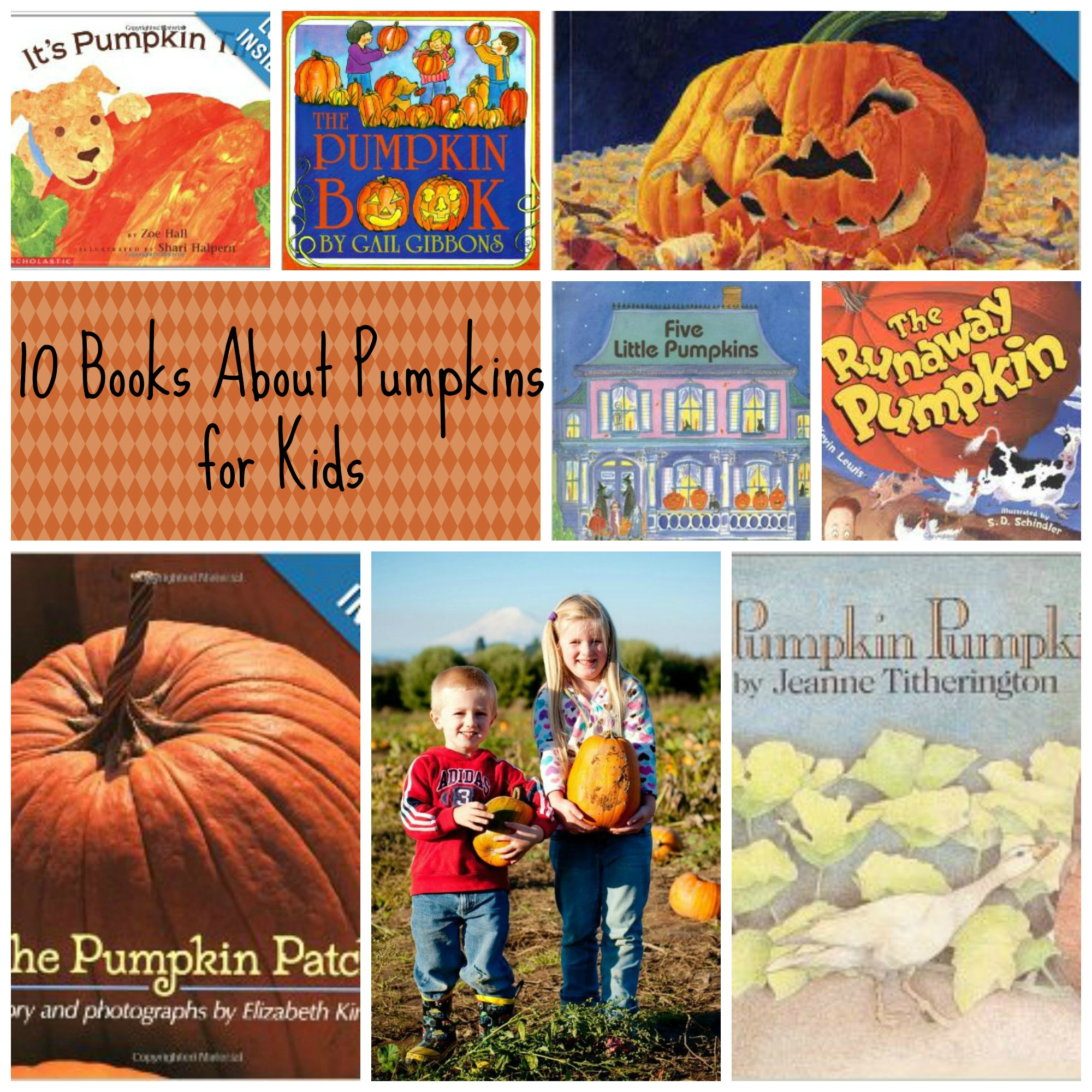 10 Books About Pumpkins For Kids