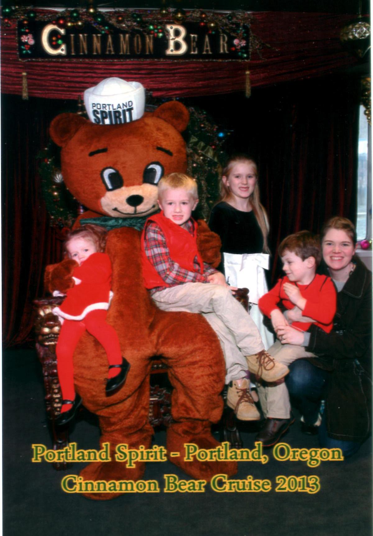 The Cinnamon Bear Cruise On The Portland Spirit