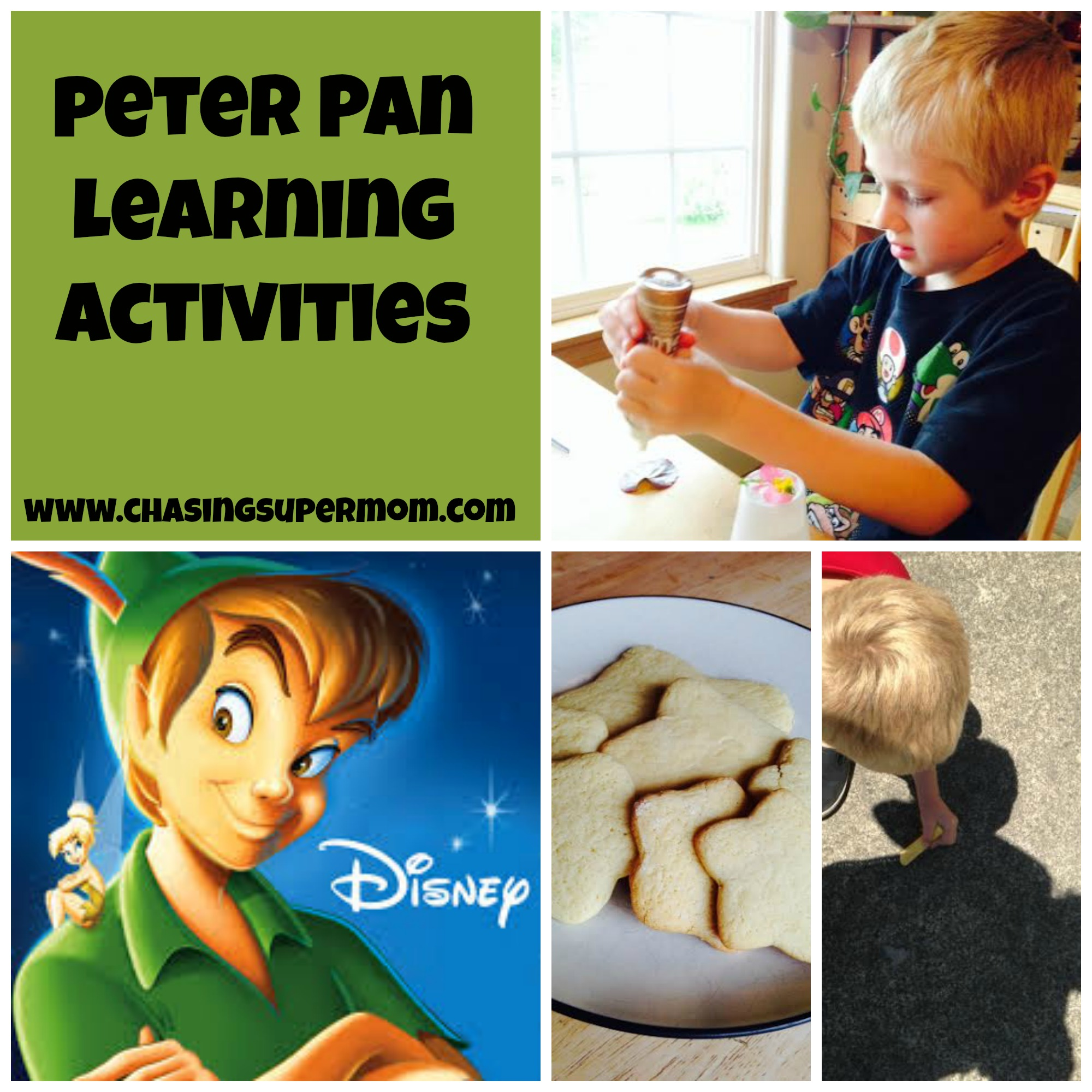 Peter Pan Learning Activities