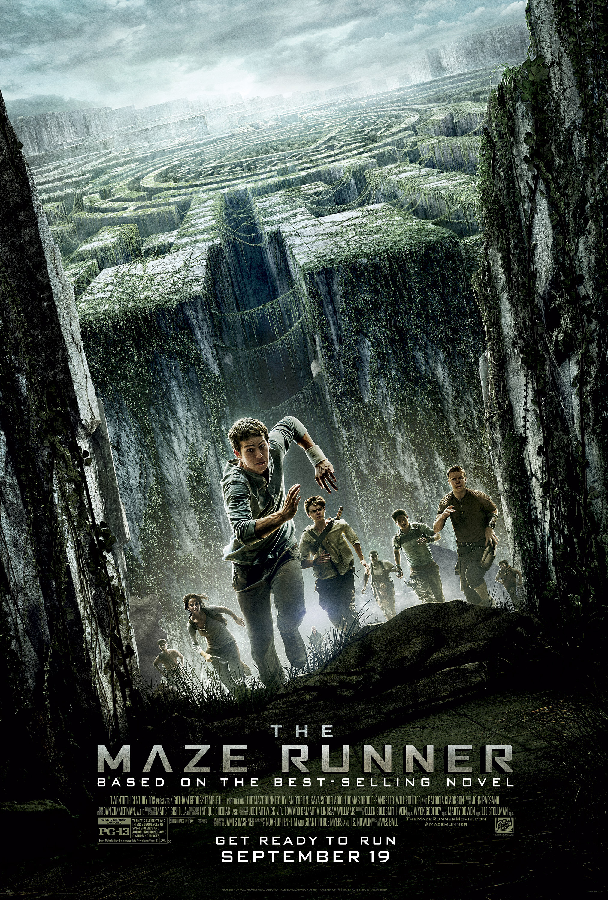 The Maze Runner Preview And Giveaway Win 25 Visa