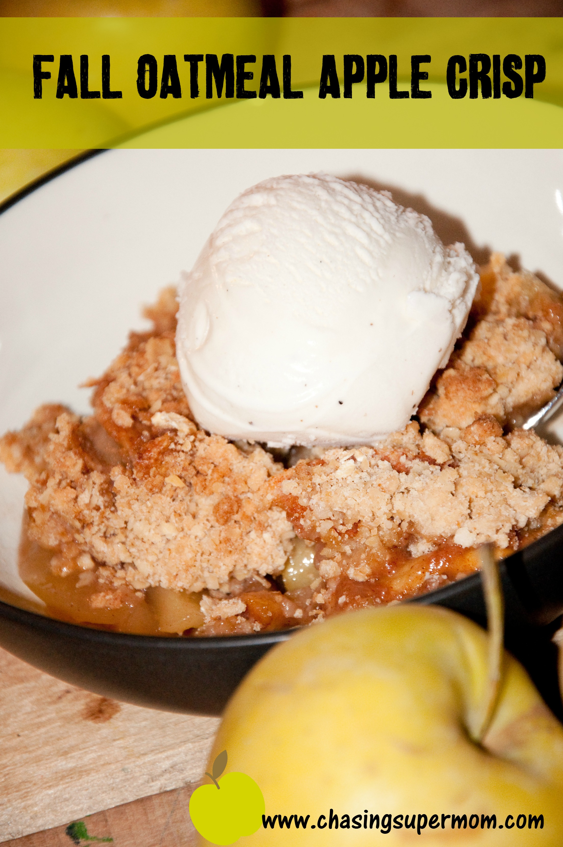 Fall Oatmeal Apple Crisp
