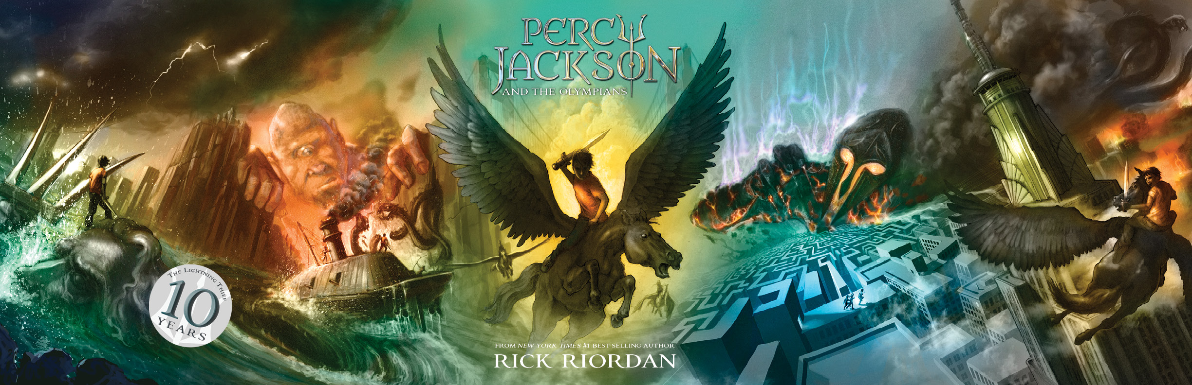 Happy Anniversary Percy Percy Jackson Giveaway