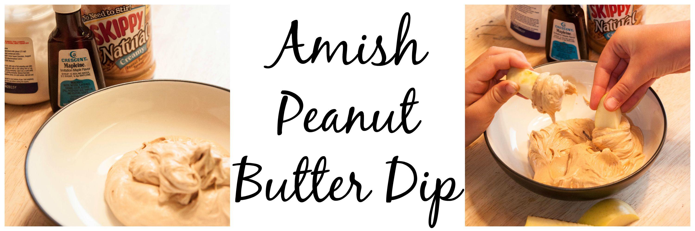 Amish Peanut Butter Dip