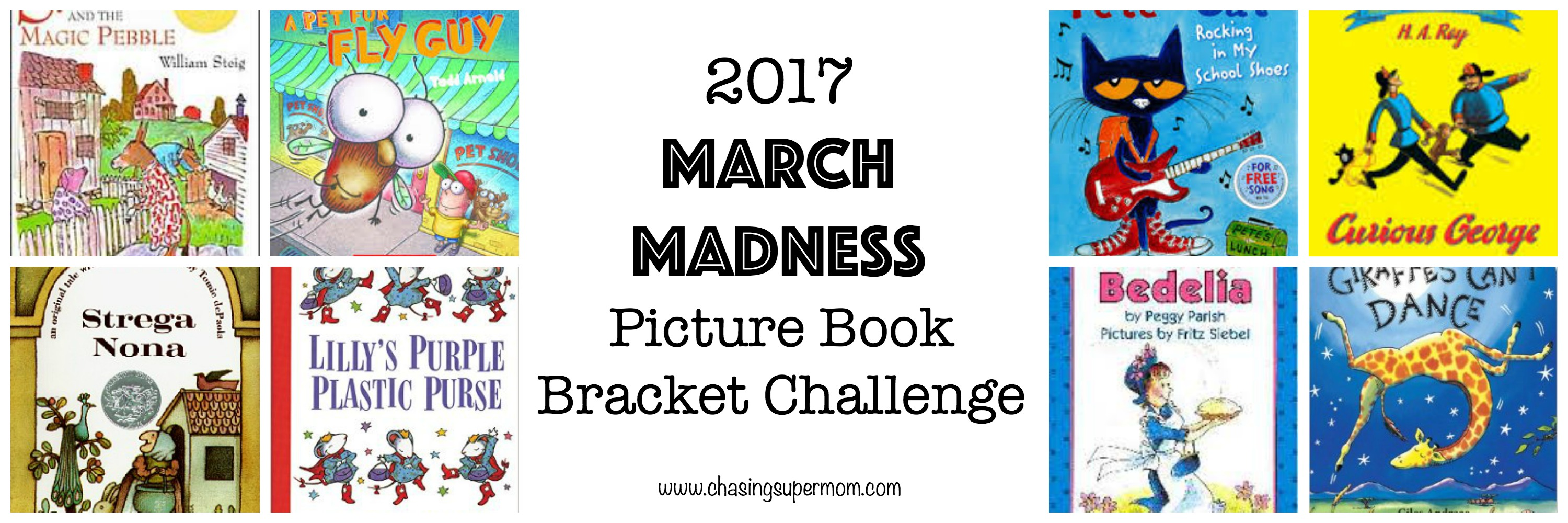 March Madness Picture Book Bracket Challenge